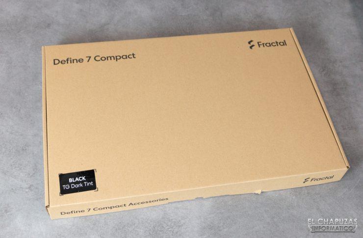 Fractal Define 7 Compact - Caja Accesorios
