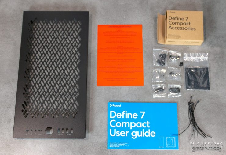 Fractal Define 7 Compact - Accesorios