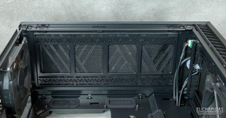Fractal Define 7 Compact - Interior - Lado superior