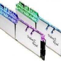 G.Skill lanza sus memorias Trident Z Royal @ 4400 MHz CL17 en módulos de 16GB de capacidad