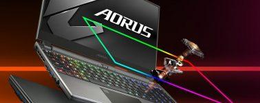 Gigabyte Aorus 15G: Portátil gaming de 15.6″ @ 240 Hz con teclado mecánico desde 1649 euros