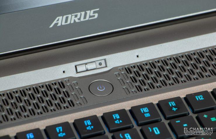 Gigabyte Aorus 17G XB - Webcam