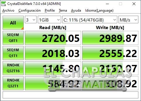 Gigabyte Aorus 17G XB - SSD
