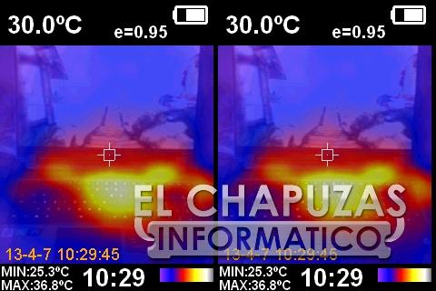 Gigabyte Aorus 17G XB - Cámara Térmica