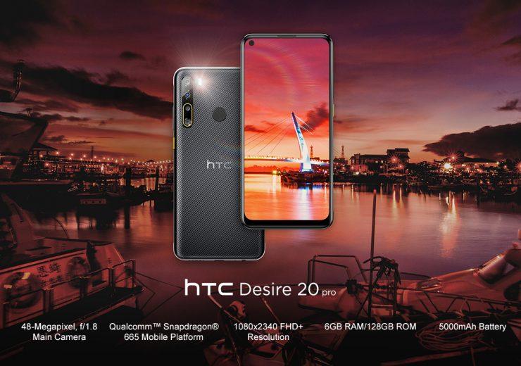 Desire 20 Pro