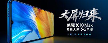 Honor X10 Max filtrado: Smartphone de 7.09″ con SoC Dimensity 800 y batería de 5000 mAh
