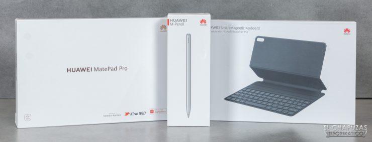 Huawei MatePad Pro - Embalaje y Accesorios