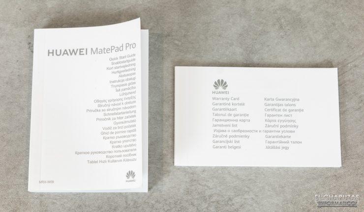 Huawei MatePad Pro - Documentación