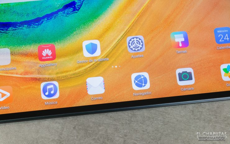 Huawei MatePad Pro - Pantalla en detalle