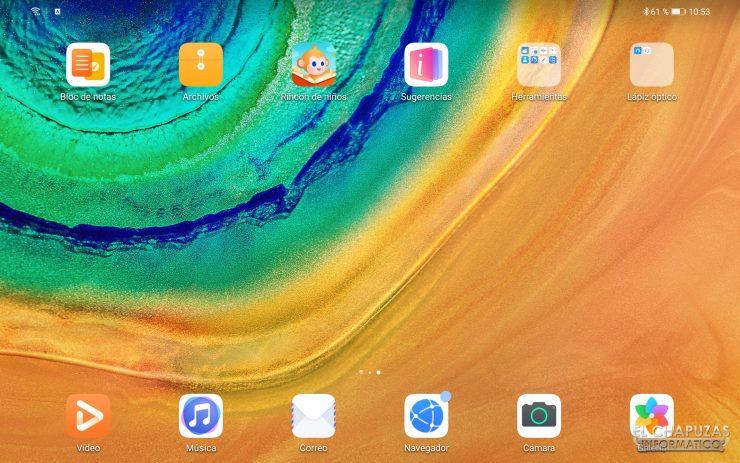 Huawei MatePad Pro - EMUI 2