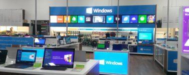 Microsoft echa el cierre a todas sus tiendas físicas de manera permanente