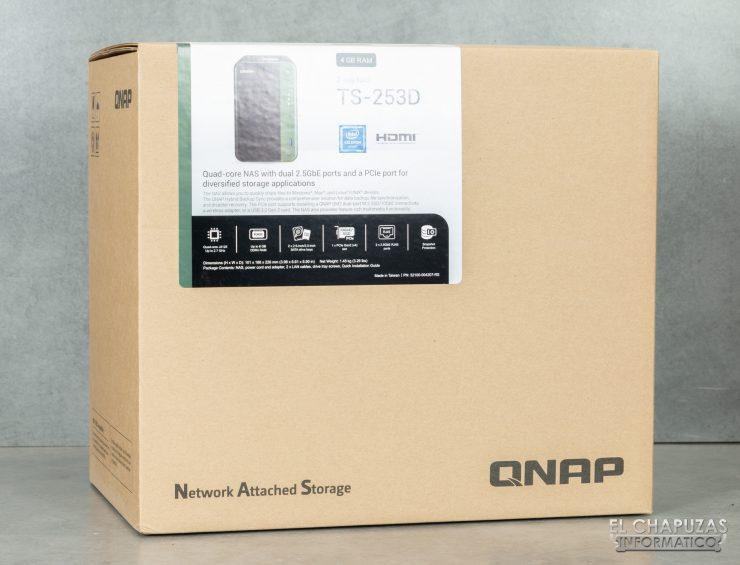 QNAP TS-253D - Embalaje 1
