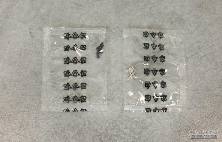 QNAP TS-253D - tornillos