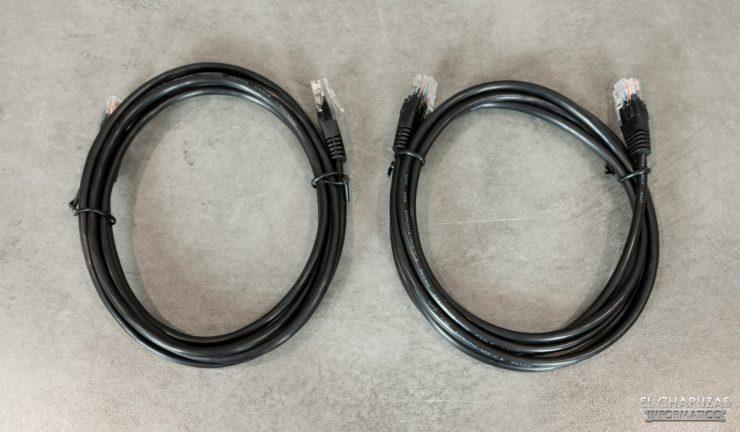 QNAP TS-253D - Cables RJ-45