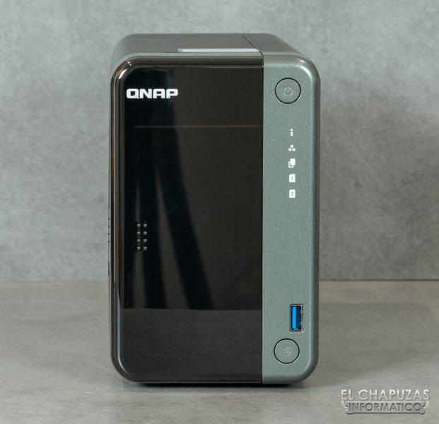 QNAP TS-253D - Vista frontal