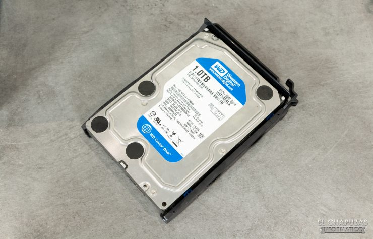 QNAP TS-253D - Instalación HDD