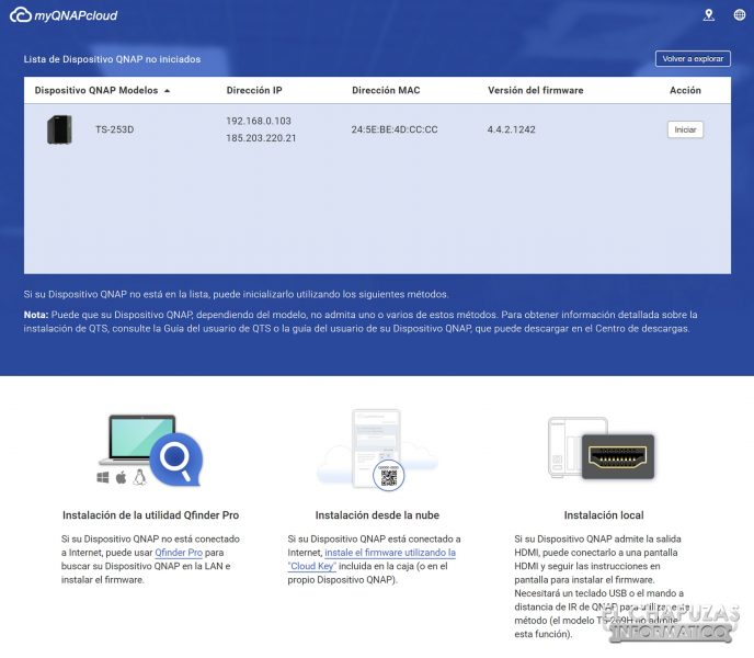 QNAP TS-253D - Software 1