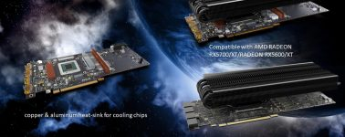 Raijintek Morpheus 8057: Disipador GPU para gráficas de alto rendimiento