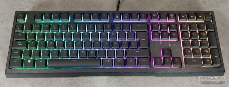 Razer Ornata V2 - Vista superior