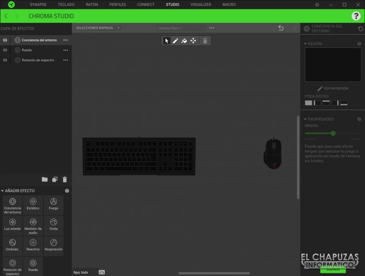 Razer Ornata V2 - Software 3