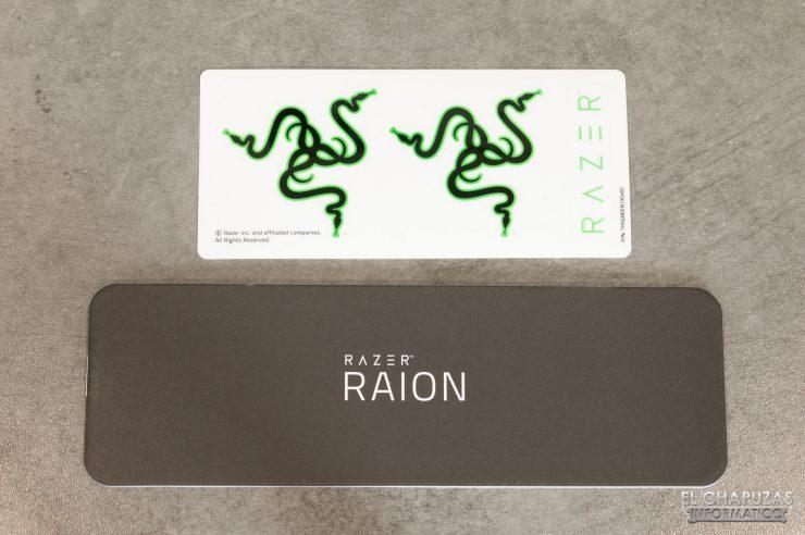 Razer Raion - Accesorios