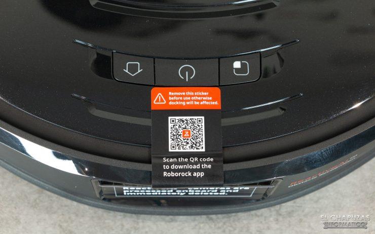 Roborock S6 MaxV - Botones