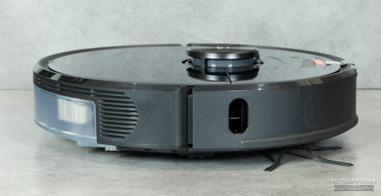 Roborock S6 MaxV - Vista lateral