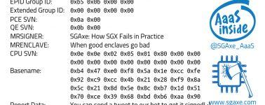 SGAxe: Otra vulnerabilidad que afecta a los procesadores de Intel