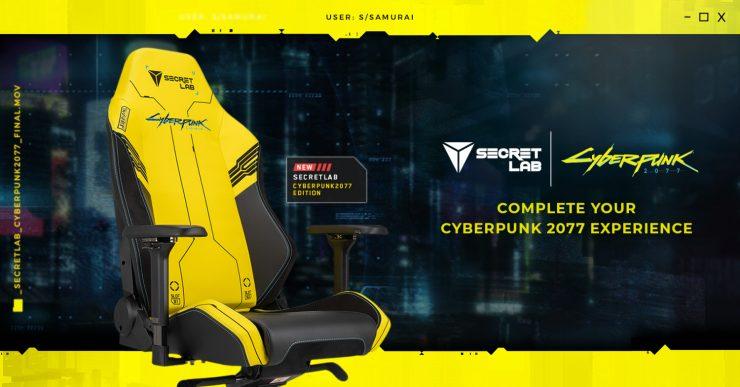 Secretlab TITAN y OMEGA Cyberpunk 2077 Edition 740x387 1