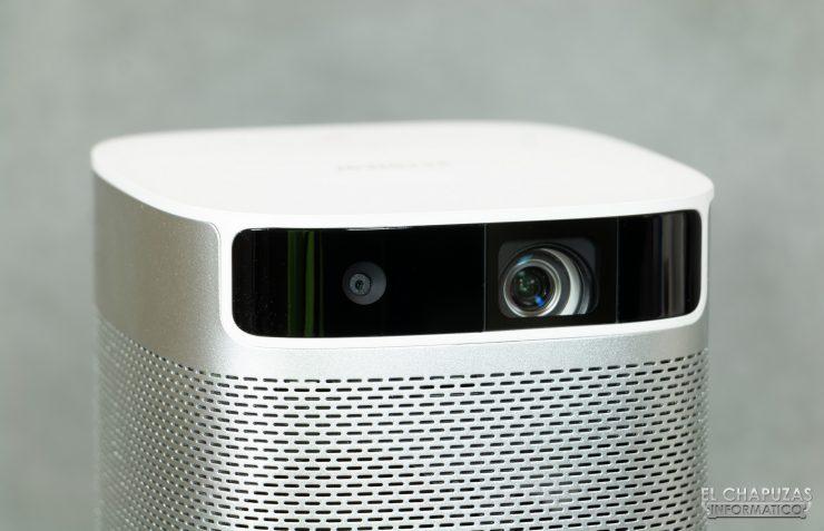 XGIMI MoGo - Lente y cámara