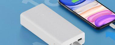 Xiaomi Mi Power Bank 3: Una Power Bank de 30.000 mAh de capacidad