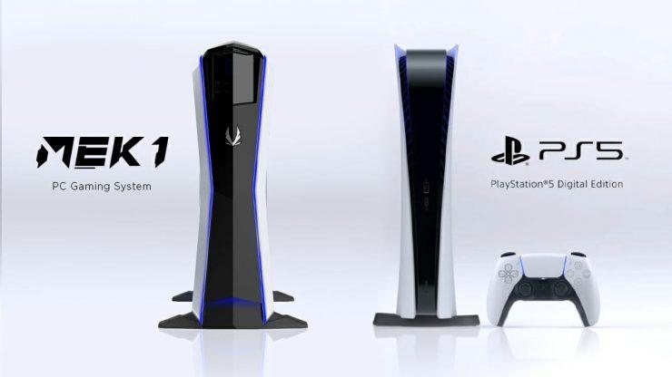 Zotac MEK1 vs PlayStation 5