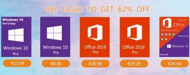No hay mejor manera de acabar un domingo que llevándote tu licencia de Windows 10 desde 6,81€