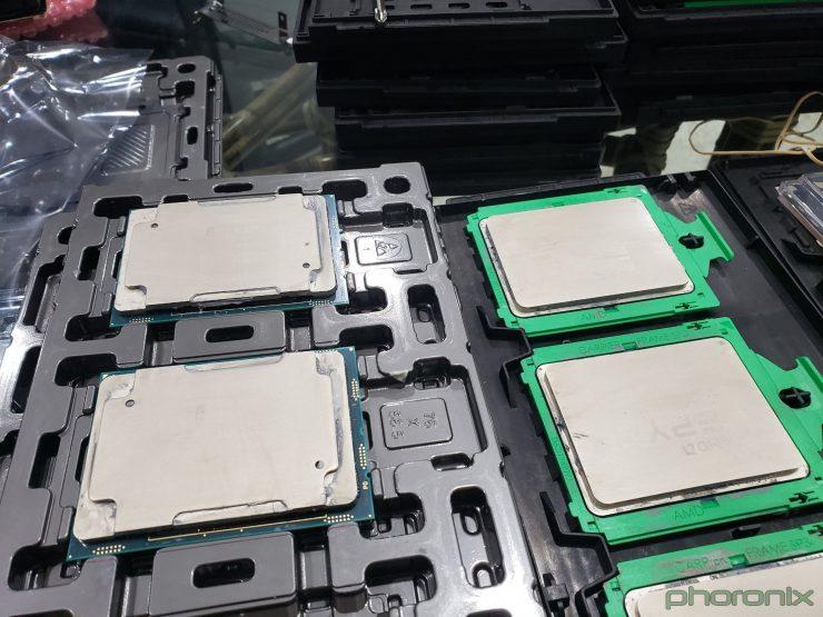 Xeon Platinum 8280 vs EPYC 7742