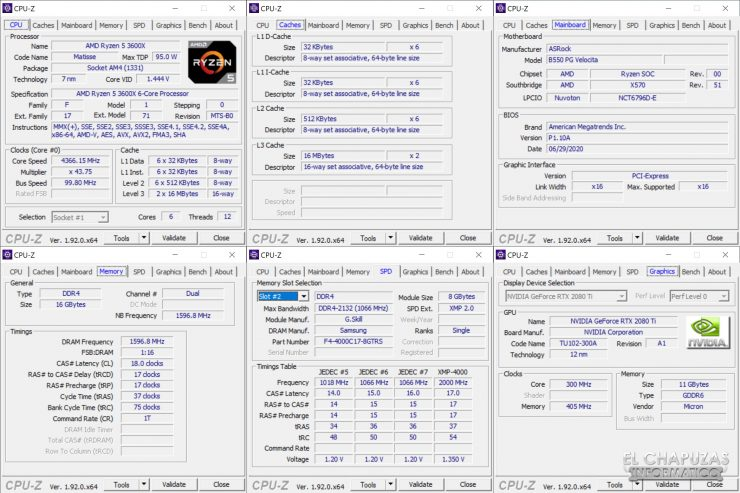 ASRock B550 PG Velocita - CPU-Z