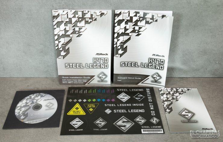 ASRock H470 Steel Legend - Documentación y drivers