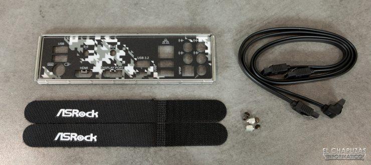 ASRock H470 Steel Legend - Accesorios
