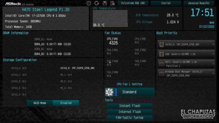 ASRock H470 Steel Legend - BIOS 1