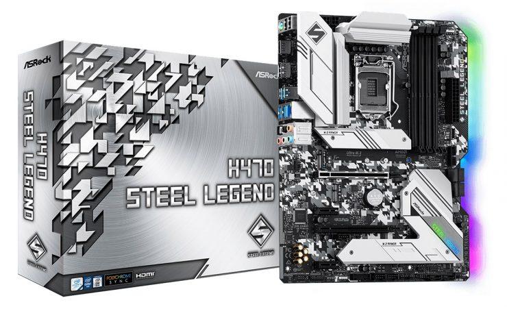 ASRock H470 Steel Legend - Oficial