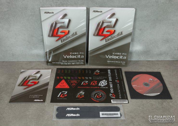 ASRock Z490 PG Velocita - Accesorios 1