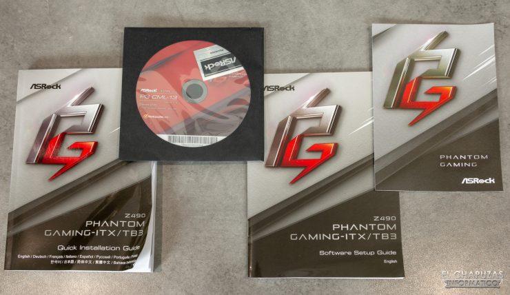 ASRock Z490 Phantom Gaming-ITX/TB3 - Accesorios 1