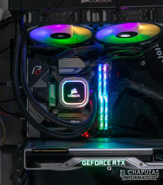 ASRock Z490 Phantom Gaming-ITX/TB3 - Equipo de pruebas 1
