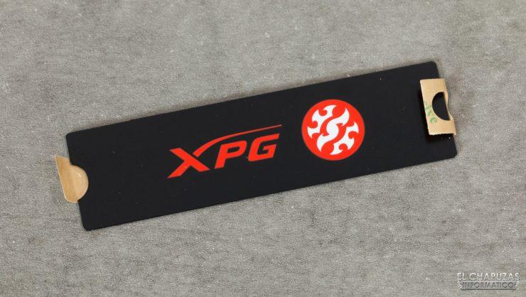 Adata XPG SX8100 - Pegatina