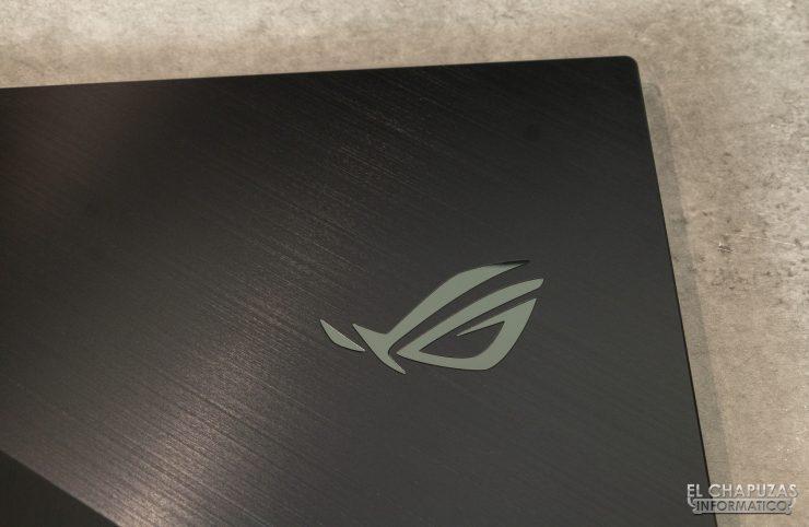 Asus ROG Zephyrus S GX701L - Diseño exterior detalle