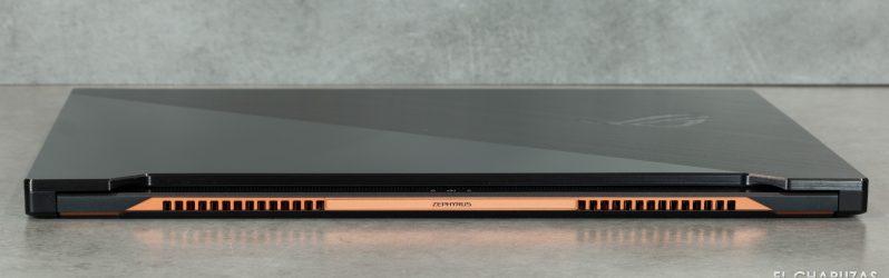 Review: Asus ROG Zephyrus S GX701L (i7-10875H + RTX 2080 SUPER en 18,7mm)