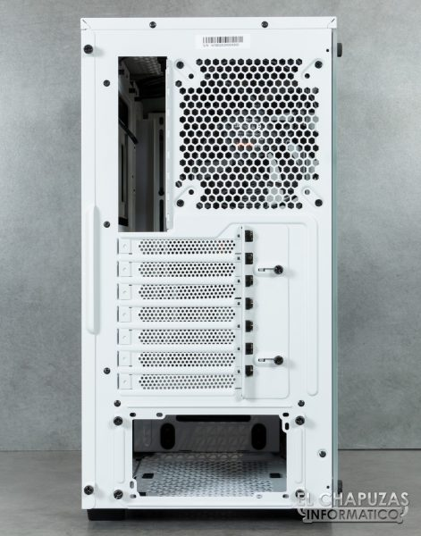 Be Quiet! Pure Base 500DX - Lado posterior