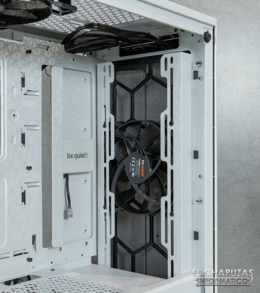 Be Quiet! Pure Base 500DX - Interior - Lado frontal