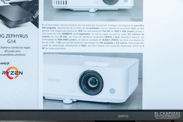 BenQ SW321C - Pruebas 3