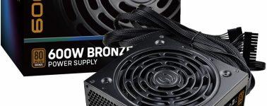 EVGA BA: Fuentes de alimentación 80 Plus Bronze de 500 y 600W de potencia