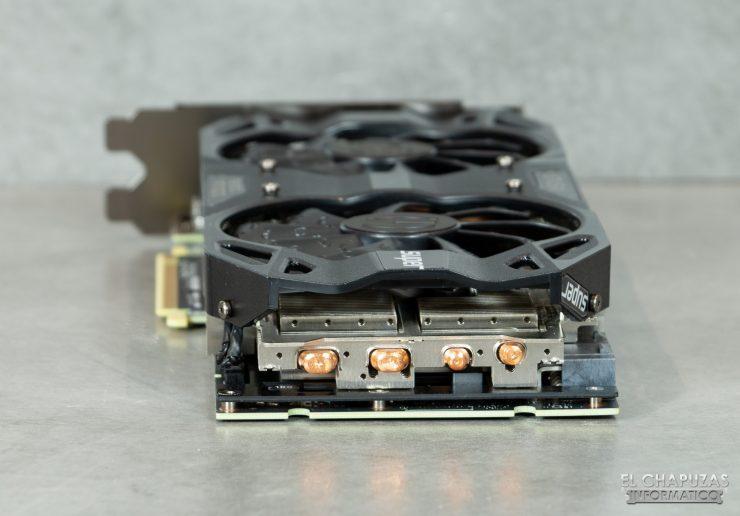 EVGA GeForce RTX 2070 SUPER KO - Vista trasera